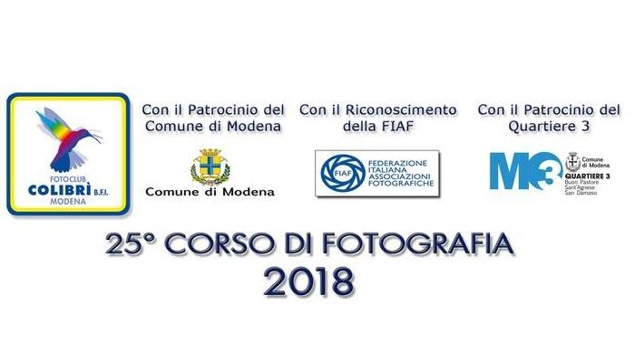 26° CORSO DI FOTOGRAFIA 2019